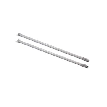 Kit of lateral round railing Ø11 for drawer