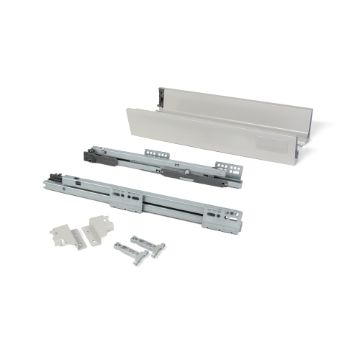 Vantage-Q drawer kit for kitchens and bathrooms, push to open