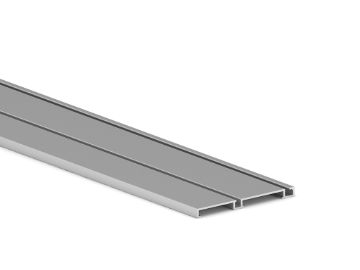 Placard lower track of Groove with Clip systems for sliding door