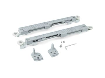 Set of fittings for door with Slowmove (Soft-closing)
