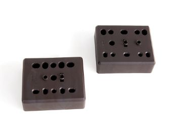 Set of spacers for removable Moka