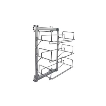 Emuca Keeper extractable lateral shoe rack