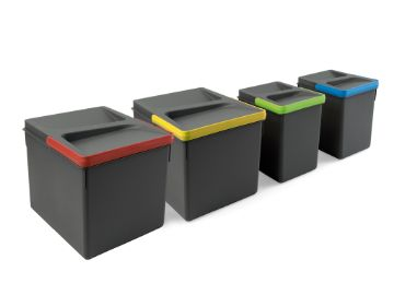 Recycle Containers for kitchen drawers, Height 216