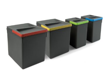Recycle Containers for kitchen drawers, Height 266