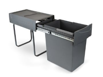 Recycle 20L Recycling bin for kitchen, lower fixing and manual removal.