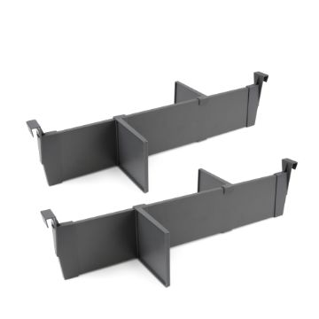 Emuca Set of dividers for interior of Vertex-Concept drawers