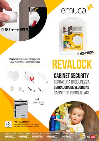 Revalock: contemporary child safety lock