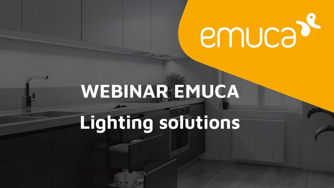 Lighting solutions Emuca
